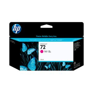 【送料無料】【純正品】 HP インクカートリッジ マゼンタ 型番:C9372A(HP72) 単位:1個