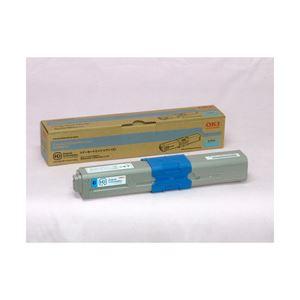 【送料無料】OKI(沖データ) 純正 トナーカートリッジ シアン 大容量 印字枚数:5000枚 型番:TNR-C4HC2 1個