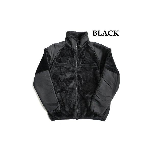 【送料無料】アメリカ軍 ECWC S Gen3 両面フリースジャケット 【 Sサイズ 】 サイドリブ仕様 JJ150YN ブラック 【 レプリカ 】