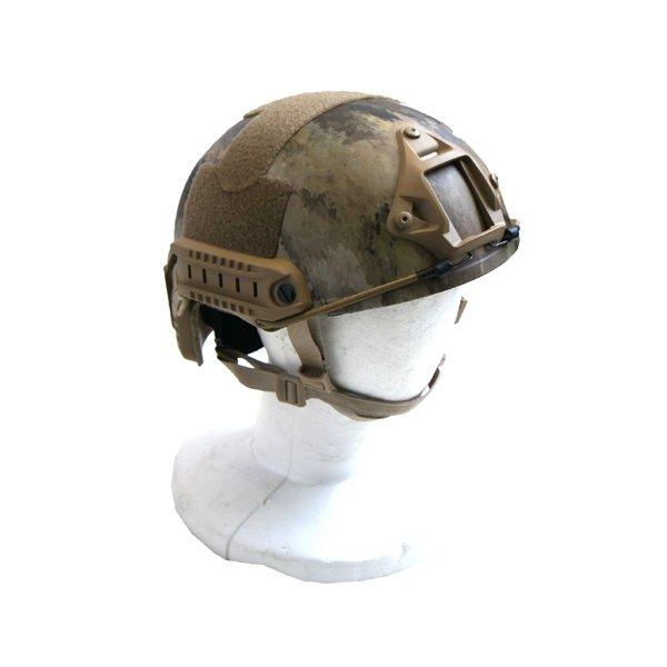 【送料無料】FA STヘルメット H M024NN A-TAC S カモ( 迷彩) 【 レプリカ 】