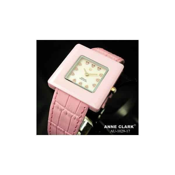 【送料無料】ANNE CLARK(アンクラーク) レディース ベルトウォッチ AU1029-17/ピンク