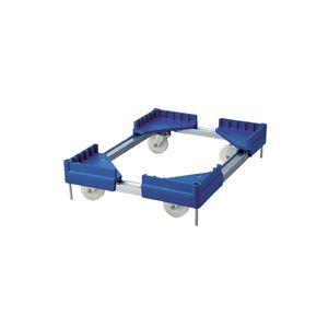 【送料無料】積水テクノ成型 折りたたみコンテナ スタックキャリー 75L用 ブルー TSC07 1台