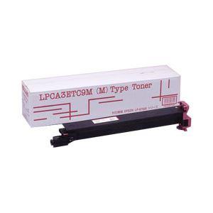 【送料無料】トナーカートリッジ 汎用タイプ エプソン(EPSON)適合 色:マゼンタ 型番:LPCA3ETC9Mタイプ汎用 印字枚数:12000枚 単位:1個