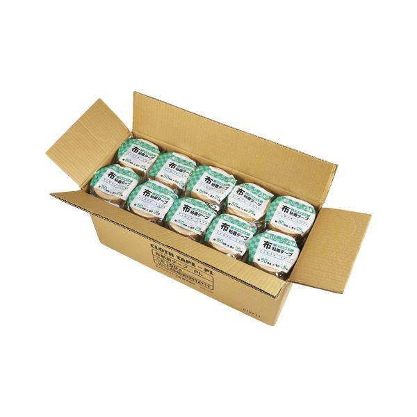 【送料無料】アイ・フィット工業 布粘着テープ 布粘着テープPL 50mm×25m 50巻