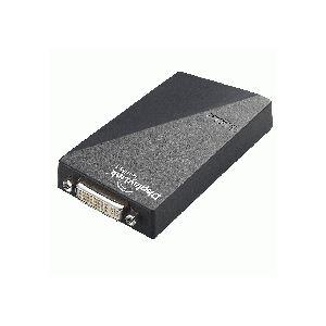 【送料無料】ロジテック USB対応 マルチディスプレイアダプタ QWXGA対応 DVI-I29pinメス LDE-WX015U 1個