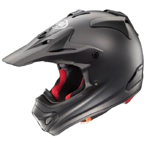 【送料無料】アライ(ARAI) オフロードヘルメット V-CROSS4 フラットブラック 57-58cm M