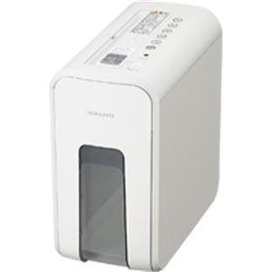 【送料無料】コクヨ デスクサイドシュレッダー(RELISH) A4 クロスカット スノーホワイト KPS-X80W 1台