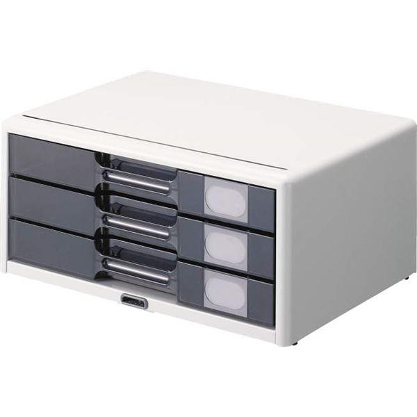 【送料無料】カギ付レターケース W349×D253×H162mm LA4-553L
