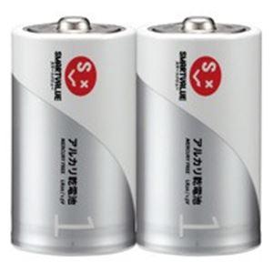 【送料無料】ジョインテックス アルカリ乾電池 単1×100本 N121J-2P-50