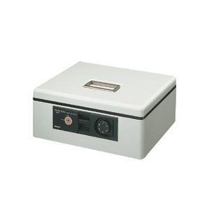 【送料無料】コクヨ 手提げ金庫ダイヤル付 A4 W360×D285×H150mm ライトグレー CB-11M 1台
