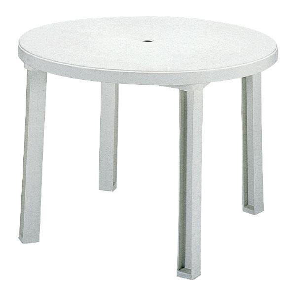 【送料無料】三甲(サンコー) サンテーブル システム-1 ホワイト【代引不可】