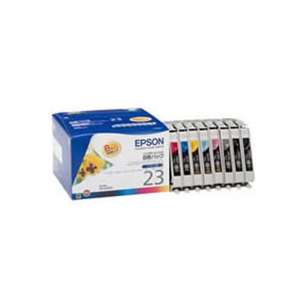 【送料無料】(業務用3セット) 【純正品】 EPSON エプソン インクカートリッジ/トナーカートリッジ 【IC8CL23 8色パック】