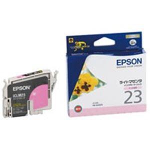 【送料無料】(業務用40セット) EPSON エプソン インクカートリッジ 純正 【ICLM23】 ライトマゼンタ