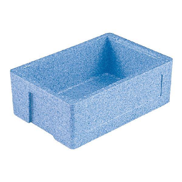 【送料無料】(業務用12個セット)三甲(サンコー) EPボックス(発泡スチロール素材コンテナ)# 24 ブルー【代引不可】