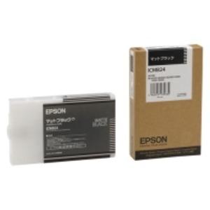 【送料無料】(業務用10セット) EPSON エプソン インクカートリッジ 純正 【ICMB24】 マットブラック(黒)