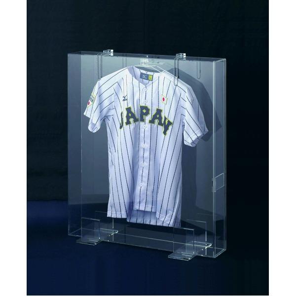 【受注生産】透明ボックス・クリアボックス・専用透明ハンガー付き ■6507A 透明ユニフォームケース(900×750mm)