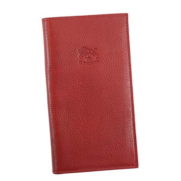 【送料無料】IL BISONTE(イルビゾンテ) フラップ長財布 C0974 245 RUBY RED