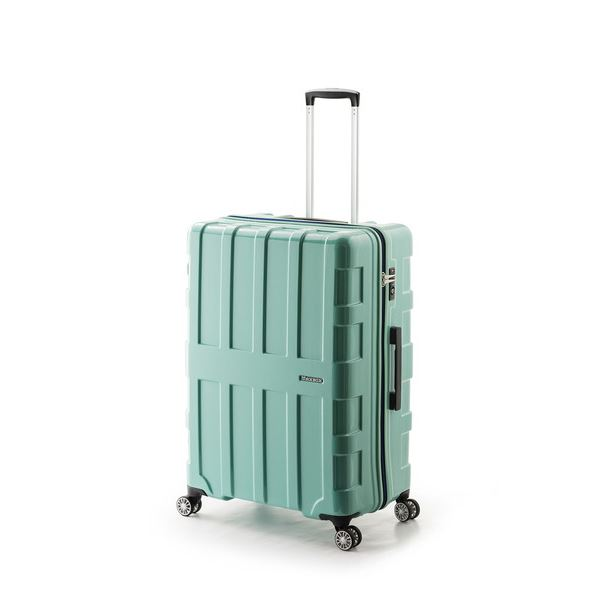 【送料無料】大容量スーツケース/キャリーバッグ 【チェレステ】 96L 軽量 アジア・ラゲージ 『MAX BOX』 手荷物預け無料最大サイズ