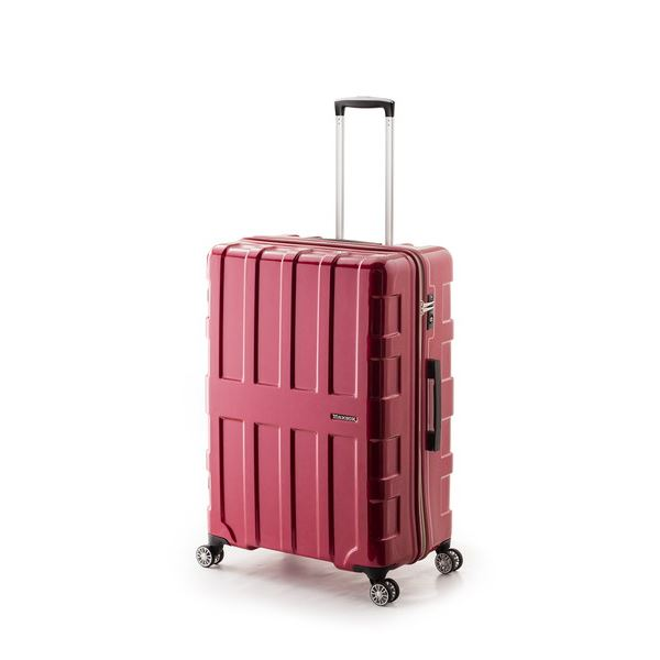 【送料無料】大容量スーツケース/キャリーバッグ 【パープリッシュピンク】 96L 軽量 アジア・ラゲージ 『MAX BOX』 手荷物預無料最大サイズ