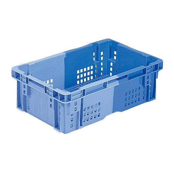 【送料無料】(業務用10個セット)三甲(サンコー) SNコンテナ/2色コンテナボックス 【Cタイプ】 #23P ブルー×ライトブルー 【代引不可】