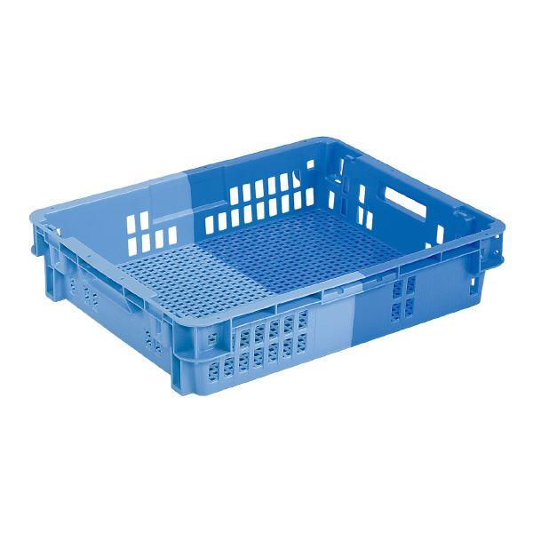 【送料無料】(業務用10個セット)三甲(サンコー) SNコンテナ/2色コンテナボックス 【Cタイプ】 #23HB ブルー×ライトブルー 【代引不可】