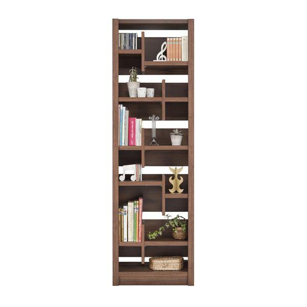 【送料無料】ユーアイ NEO RAIDER(レイダー) 書棚60 飾り棚 ライトブラウン L-600H LBR【代引不可】