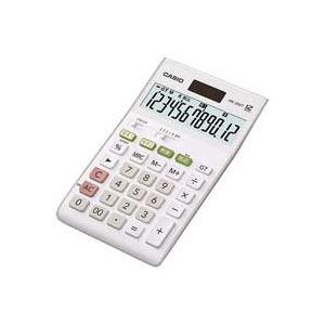 【送料無料】(業務用20セット) カシオ CASIO W税率電卓ジャストサイズ12桁 JW-200T-N