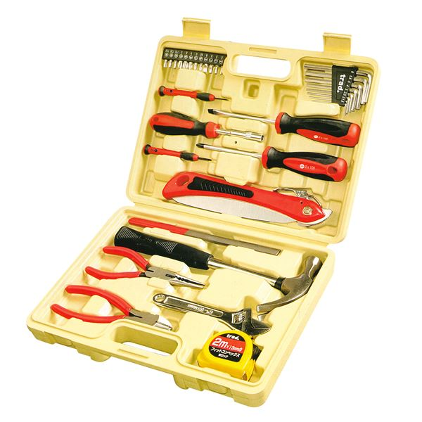 【送料無料】(業務用5個セット) TRAD 工具セット 【32PC】 TS-32