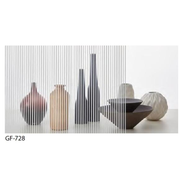 【送料無料】ストライプ 飛散防止 ガラスフィルム サンゲツ GF-728 92cm巾 8m巻