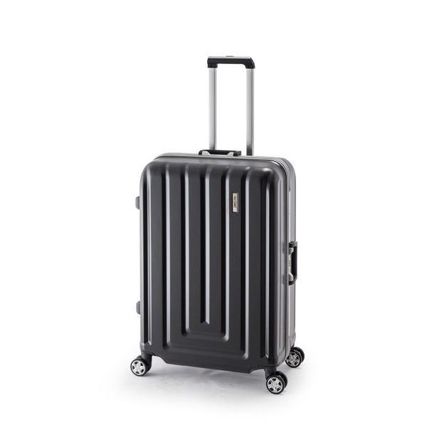 【送料無料】スーツケース/キャリーバッグ 【カーボンブラック】 82L ダイヤル式 TSAロック アジア・ラゲージ 『MAX SMART』