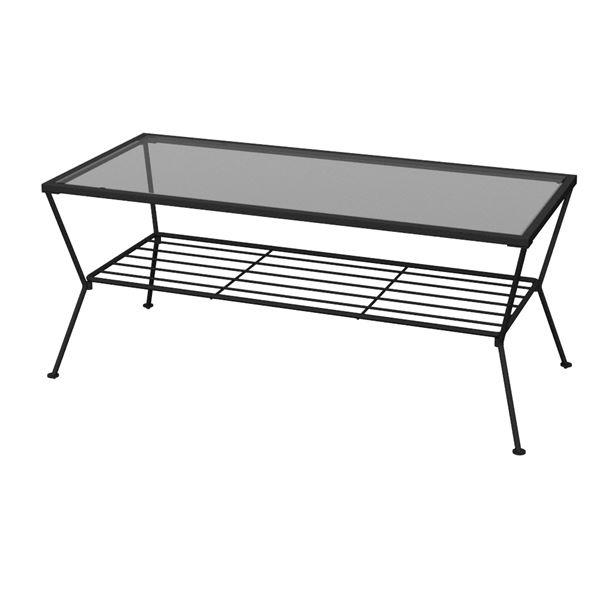 【送料無料】あずま工芸 リビングテーブル 幅90cm GLT-2319