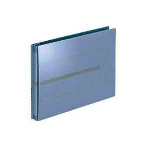 【送料無料】(業務用100セット) プラス 背幅伸縮フラットセノバスEX FL-042SL青