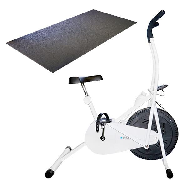【送料無料】サイクルツイスタースリムWT550+専用床保護マットセット