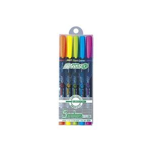 【送料無料】(業務用100セット) トンボ鉛筆 蛍光マーカー/蛍コート80 【5色セット】 WA-SC5C