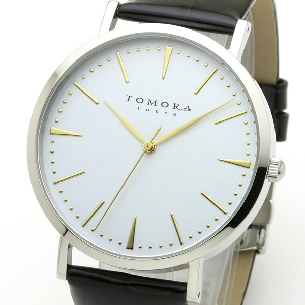 【送料無料】TOMORA TOKYO(トモラトウキョウ) 腕時計 日本製 T-1601-GWHBK