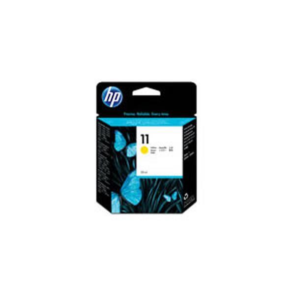 【送料無料】(業務用3セット) 【純正品】 HP インクカートリッジ 【C4838AAインク HP11 Y イエロー】