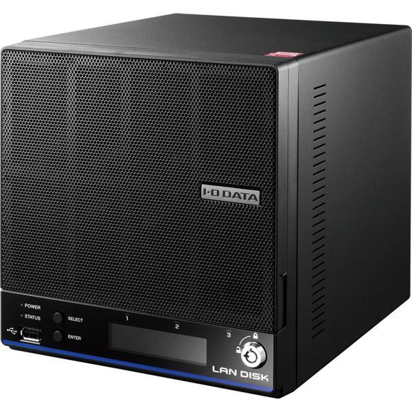 【送料無料】アイ・オー・データ機器 「WD Red」2基/高速CPU搭載 「拡張ボリューム」採用 高信頼2ドライブビジネスNAS2TB HDL2-H2