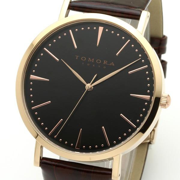 【送料無料】TOMORA TOKYO(トモラトウキョウ) 腕時計 日本製 T-1601-PBKBR