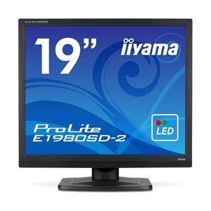【送料無料】iiyama 19型液晶ディスプレイ ProLite E1980SD-2 (LED) マーベルブラック E1980SD-B2