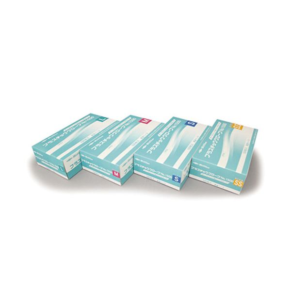 【送料無料】(業務用20セット) 共和 プラスチックグローブNo1500 L LH-1500-L