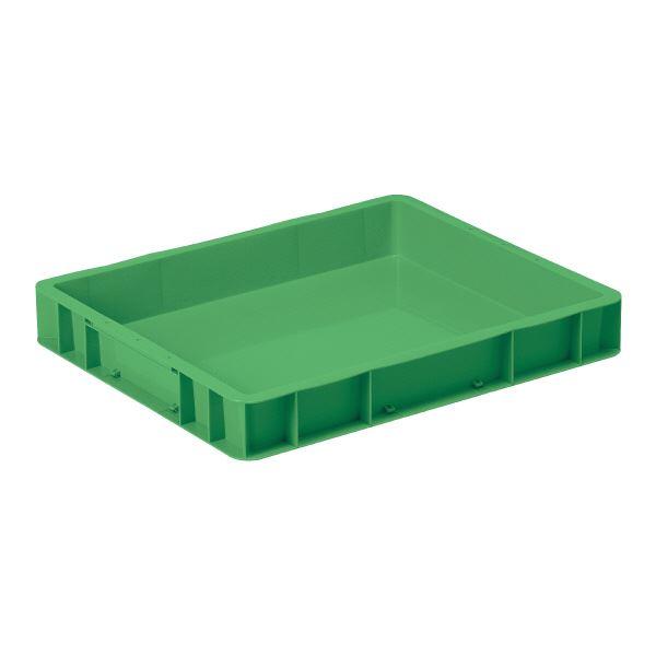 【送料無料】(業務用10個セット)三甲(サンコー) ベタ目コンテナボックス/サンボックス 20-2 グリーン(緑) 【代引不可】