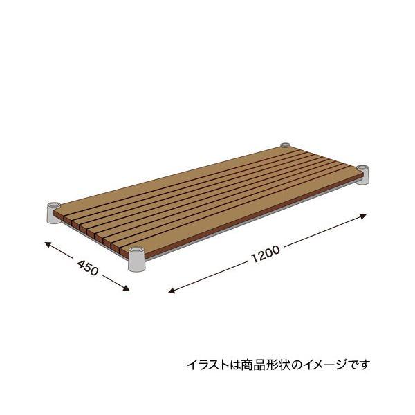 【送料無料】エレクター ブランチシェルフ H1848BN1