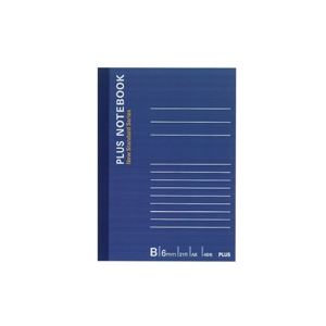 【送料無料】(業務用500セット) プラス ノートブック NO-405BS A6 B罫
