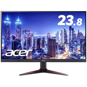 【送料無料】Acer 23.8型ワイド液晶ディスプレイ VG240Ybmiix(IPS/非光沢/1920×1080/16:9/250cd/m^2/100000000:1/1ms/ブラック/ミニD-Sub15ピン・HDMI 1.4 (HDCP2.2対応)/ゲーミング)