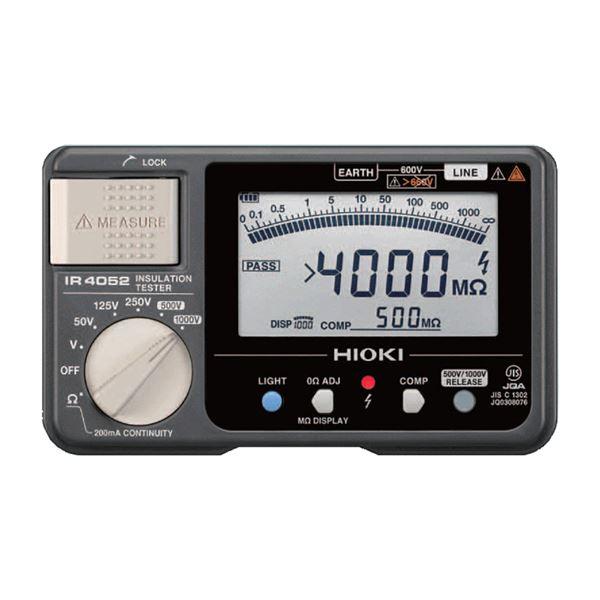 日置電機 5レンジ デジタル絶縁抵抗計 IR4052-10【代引不可】