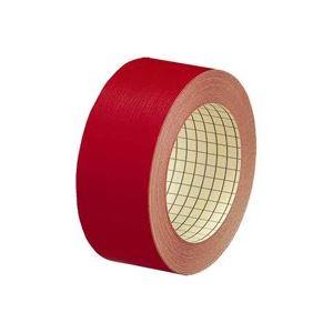 【送料無料】(業務用100セット) プラス 製本テープ/紙クロステープ 【35mm×12m】 裏面方眼付き AT-035JC 赤