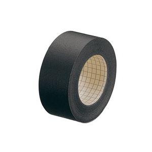 【送料無料】(業務用100セット) プラス 製本テープ/紙クロステープ 【35mm×12m】 裏面方眼付き AT-035JC 黒