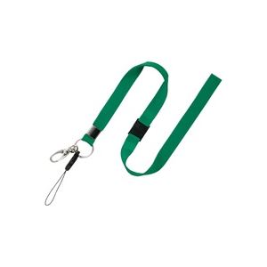 【送料無料】(業務用100セット) オープン工業 名札用ストラップ ひも NB-205-GN 緑