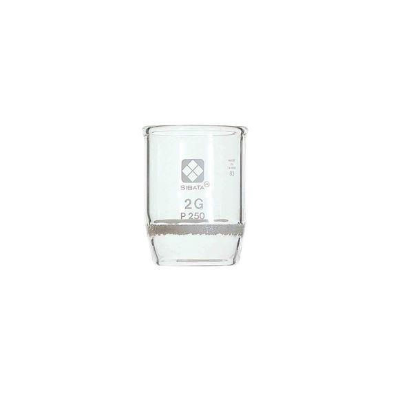 【送料無料】【柴田科学】ガラスろ過器 2G るつぼ形 2GP5.5【3個】 013050-25A
