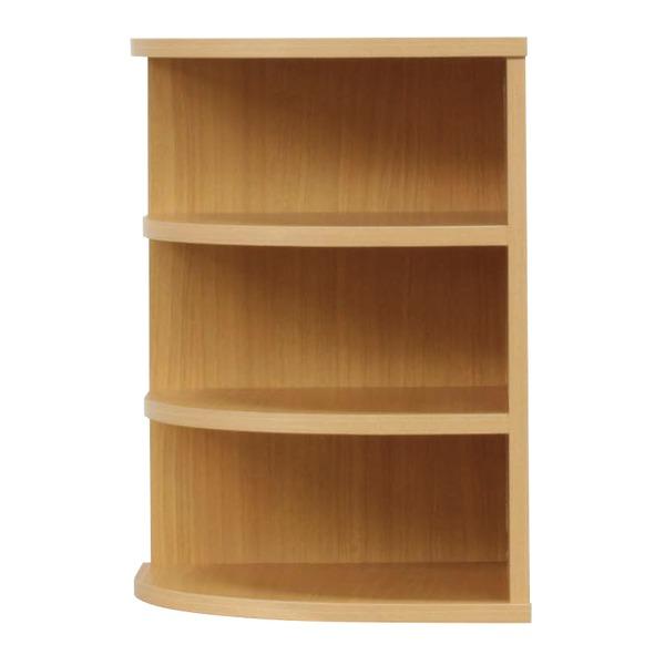 【送料無料】オープンエンド/オープンシェルフ 【幅43cm】 木製(天然木) 日本製 ナチュラル 【完成品 開梱設置】【代引不可】